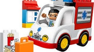 LEGO Duplo 10527 Ambulance - Fantasy play - Đồ chơi xếp hình Lego mới nhất xếp hình xe cứu thương