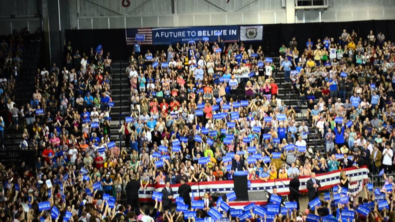 Bernie Sanders At Big Sandy Superstore Arena Huntington Wv Part 3 4 26 2016