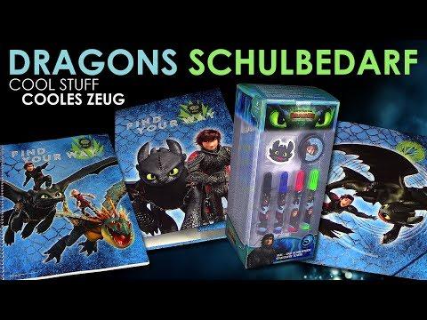 dragons-3---coole-sammelordner---collegeblock---schreib--&-malset-tower---schulbedarf