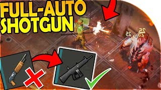FULL AUTO SHOTGUN! (STRONGEST WEAPON IN-GAME) - Last Day On Earth Survival Update 1.8.2
