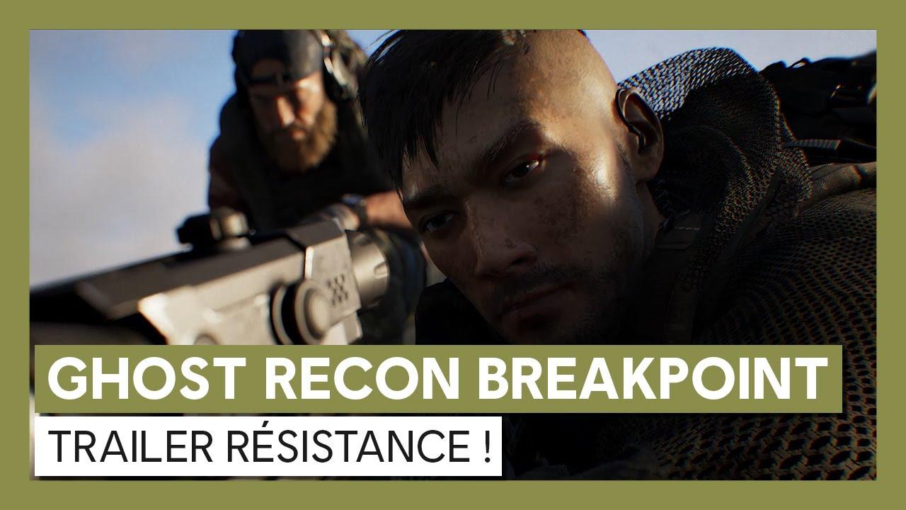 Ghost Recon Breakpoint : Trailer Évènement Résistance !VOSTFR