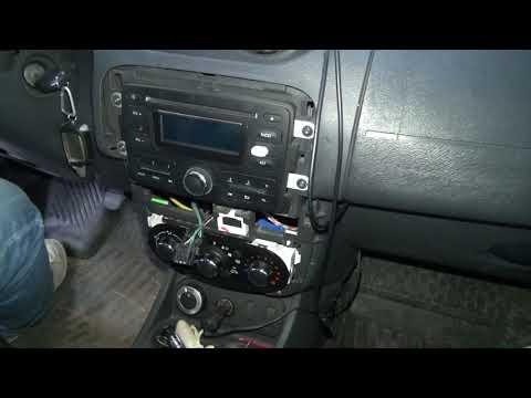 Как демонтировать старую магнитолу на Renault Duster