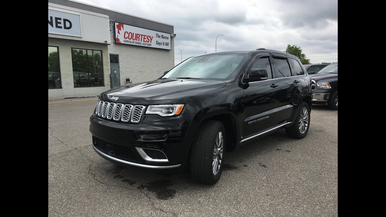 Black Jeep Cherokee 2017 >> 2017 Jeep Grand Cherokee Summit Diamond Black Courtesy