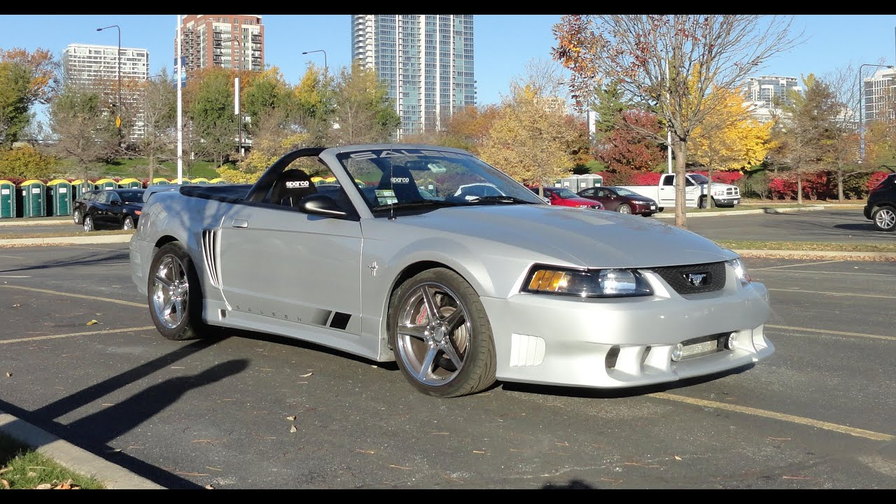 2001 ford mustang saleen convertible my car story with. Black Bedroom Furniture Sets. Home Design Ideas