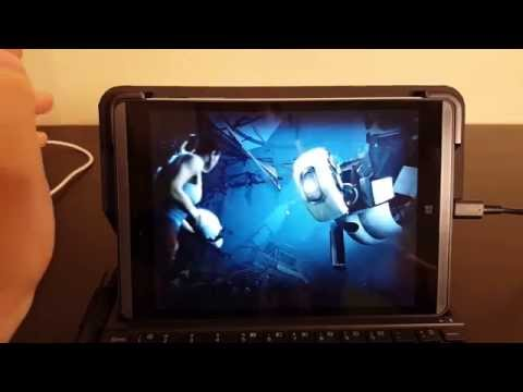 Gaming with a Intel X5 Atom Processor - Using a HP 608 Pro Tablet