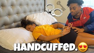 I Hand-Cuffed Bri And I'm NOT Giving Her The KEY! *GONE CRAZY*