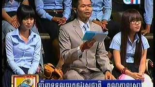 Khmer Star Show Grandfather's House 12 Jan 2014 Part 3