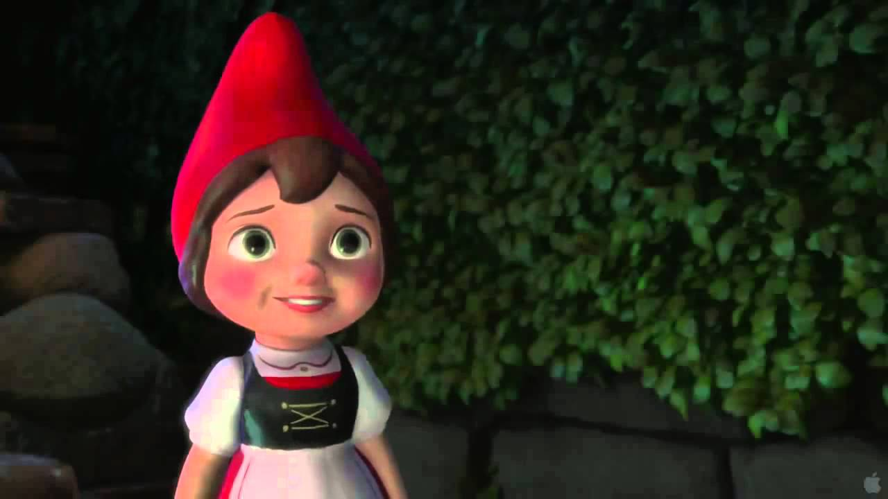 gnomeo and juliet official trailer youtube