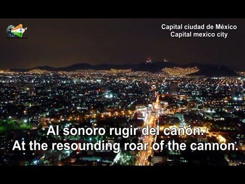 """""""Mexicanos, al grito de guerra"""" National Anthem of Mexico (Himno Nacional Mexicano) [ES/EN]"""