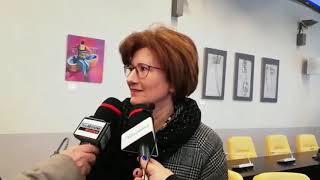 Interviste sulla consegna del defibrillatore
