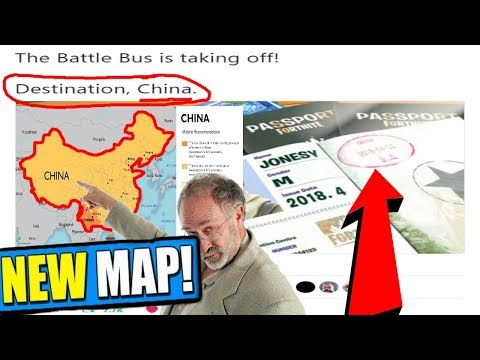 *NEW* MAP IN CHINA! FORTNITE BATTLE ROYALE NEWS UPDATE!