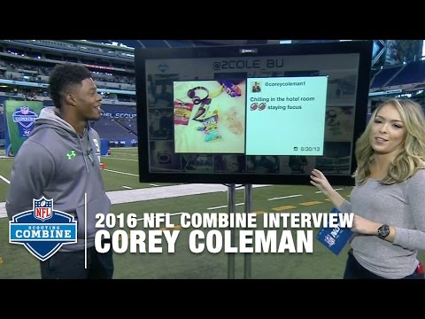 Corey Coleman (Baylor, WR) Plays What's In My Bag & MORE | 2016 NFL Combine Interviews