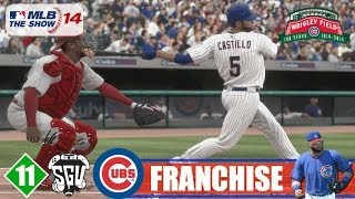 MLB 14: The Show (PS4) Chicago Cubs Franchise - EP11 (vs Cardinals)
