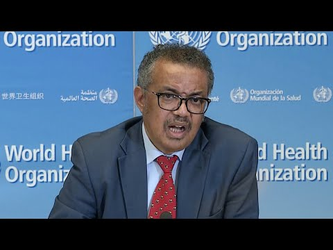 WATCH: The World Health Organization Holds A Briefing On Coronavirus