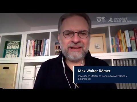 Entrevista Profesor Max Römer Máster Universitario En Comunicación Política Y Empresarial Youtube