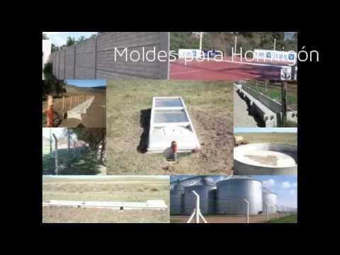Venta lote de moldes para prefabricados de hormig n cod for Moldes baldosas hormigon