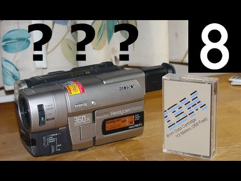 Do Data8 tapes work in 8mm camcorders?