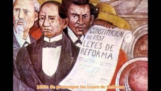 La Historia de México en 4 minutos (1821-1900)
