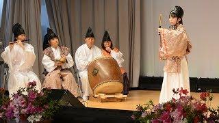 岩戸神楽舞「復活へ一歩」宇部で10年半ぶり披露