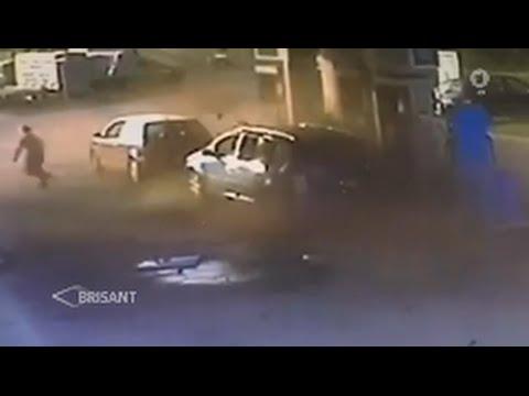 Erdgasauto Explodiert