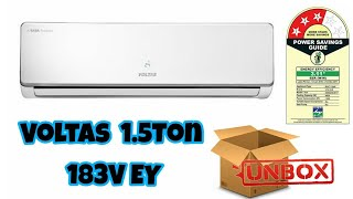 Voltas 1.5ton Inverter AC Unboxing | Best budget AC to buy | Tech Harbour