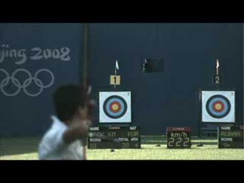 Mexico vs Russia - Archery - Men