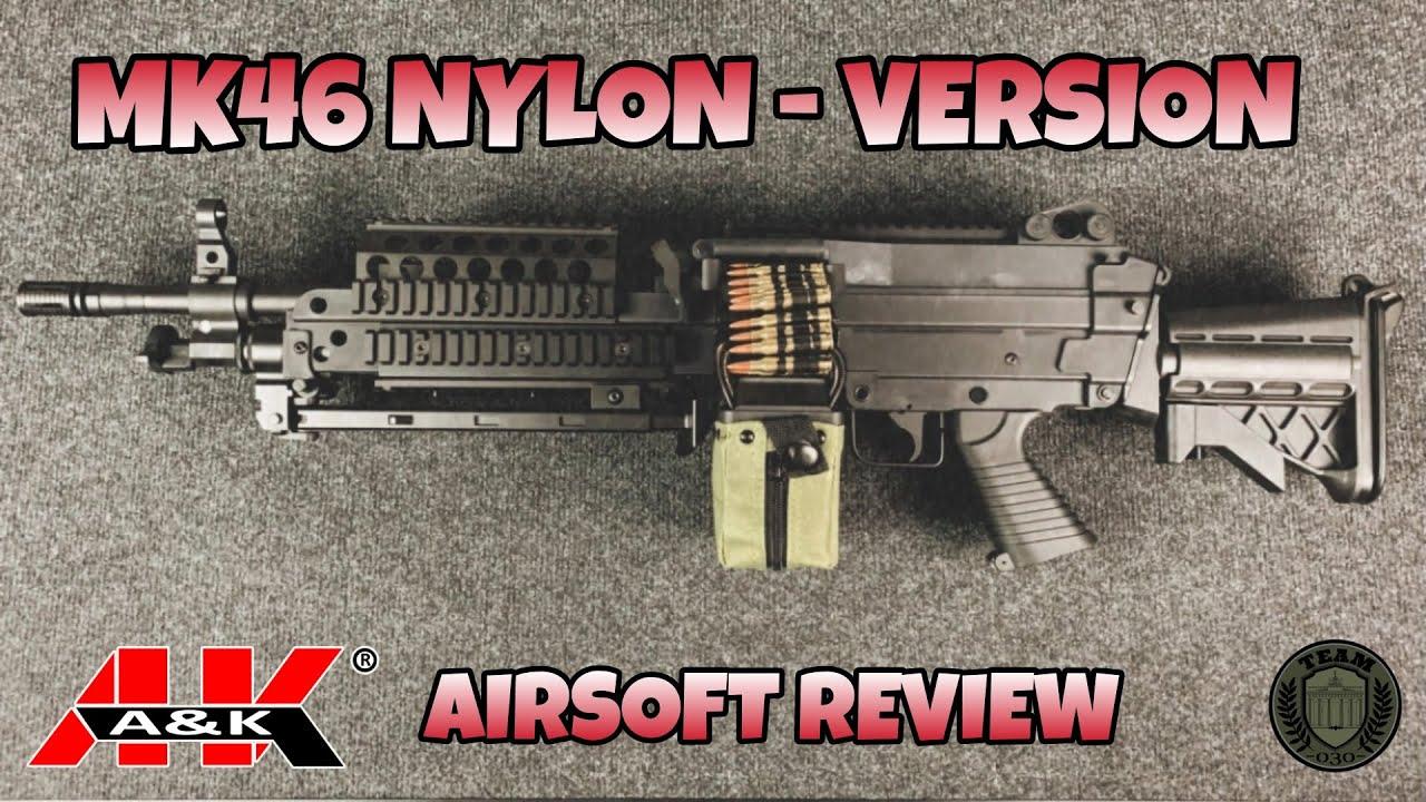 A&K MK46 Nylon-Series 0,5 Joule MG - Update 2021