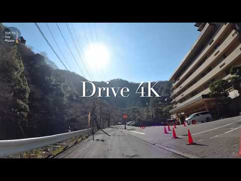 🎥drive 4K in japan!! Kanagawa prefecture and Tokyo 東京と神奈川県をドライブ🚗  箱根旅行〜Tokyo Day Tripper!!東京デイトリッパー!
