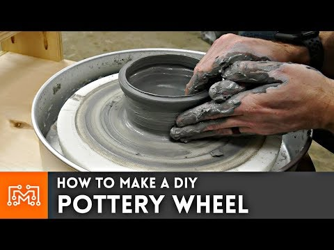 How to Make a DIY Pottery Wheel | I Like To Make Stuff
