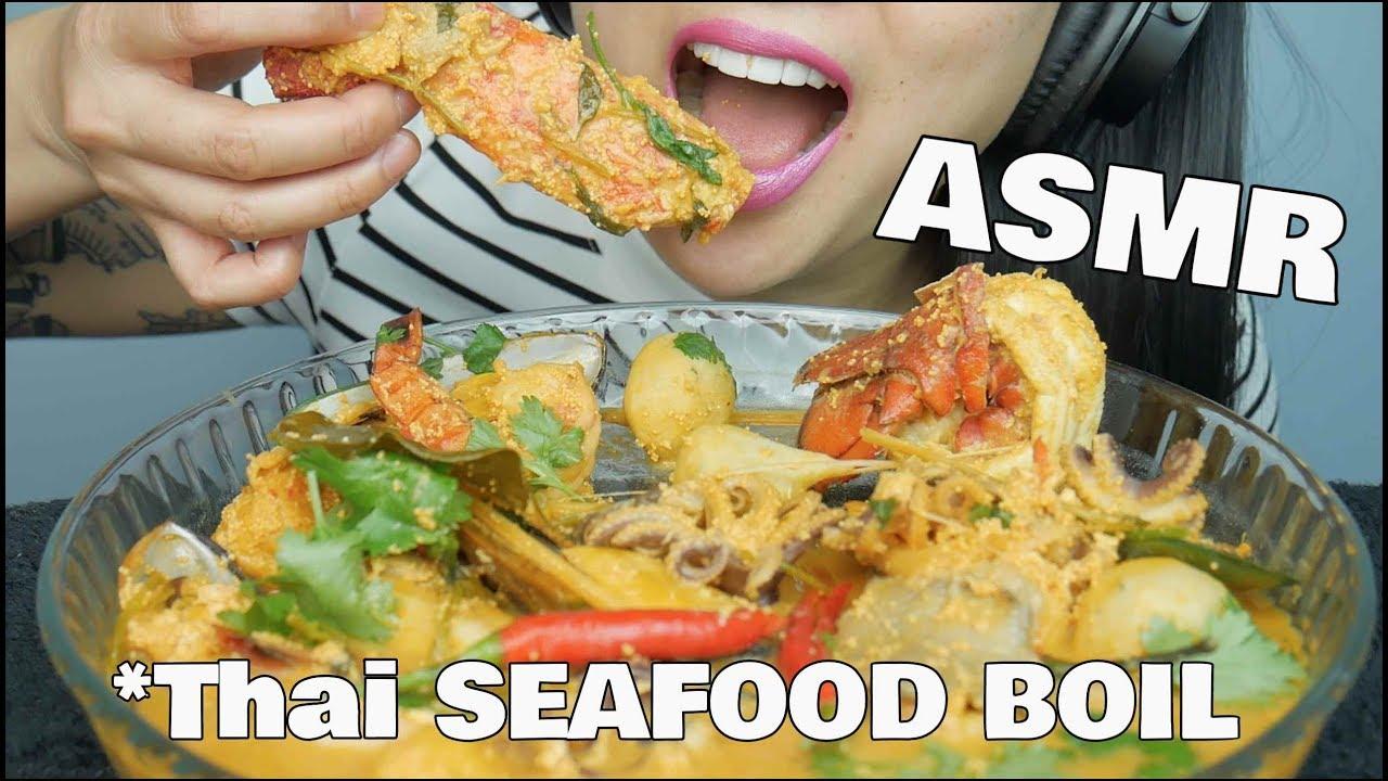 Asmr Spicy Thai Seafood Boil Eating Sounds Sas Asmr Youtube Autonomous sensory meridian response asmr video food inspiration yummy food slime eat ethnic recipes asian inspired. asmr spicy thai seafood boil eating sounds sas asmr