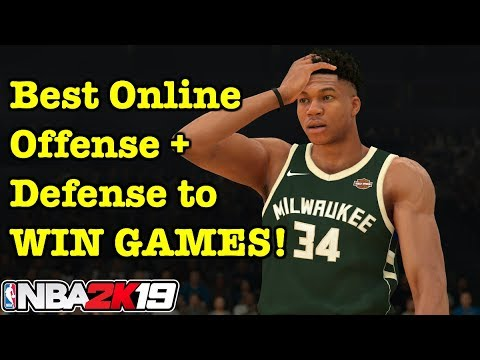 NBA 2K19 How to Win Online Tips Best Freelance Offense 2K19 How to Play #20