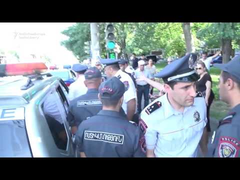 Armed Attackers Storm Yerevan Police Headquarters