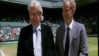 John McEnroe & Bjon Borg Greatest Tennis Match Discussed