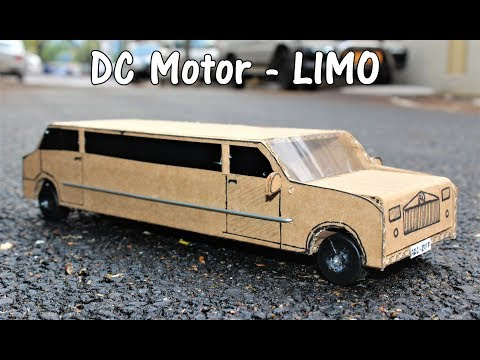 Thumbnail: How to make a Battery operated Limo Car - DC Motor Car