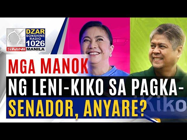 Thinking Pinoy on SMNI: Senate slate ni Leni, anyare?