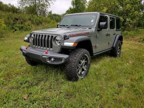 Review: 2018 Jeep Wrangler Unlimited Rubicon (JL)