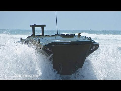 U.S. Marines Release New Video of Amphibious Combat Vehicle