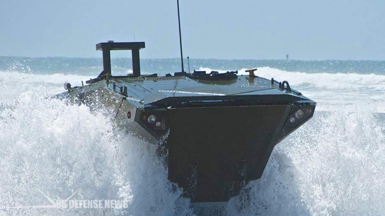 U.S. Marines Release New Video of Amphibious Combat Vehicle