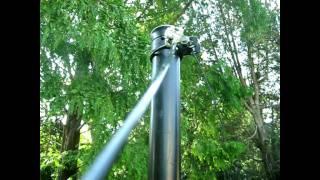 8.  Stringing Topwire For Deer Fences