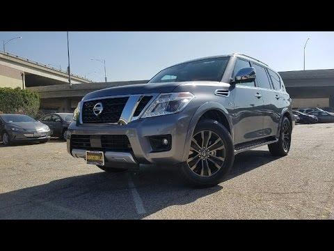 2017 Nissan Armada Platinum In-Depth Complete Feature Walkthrough