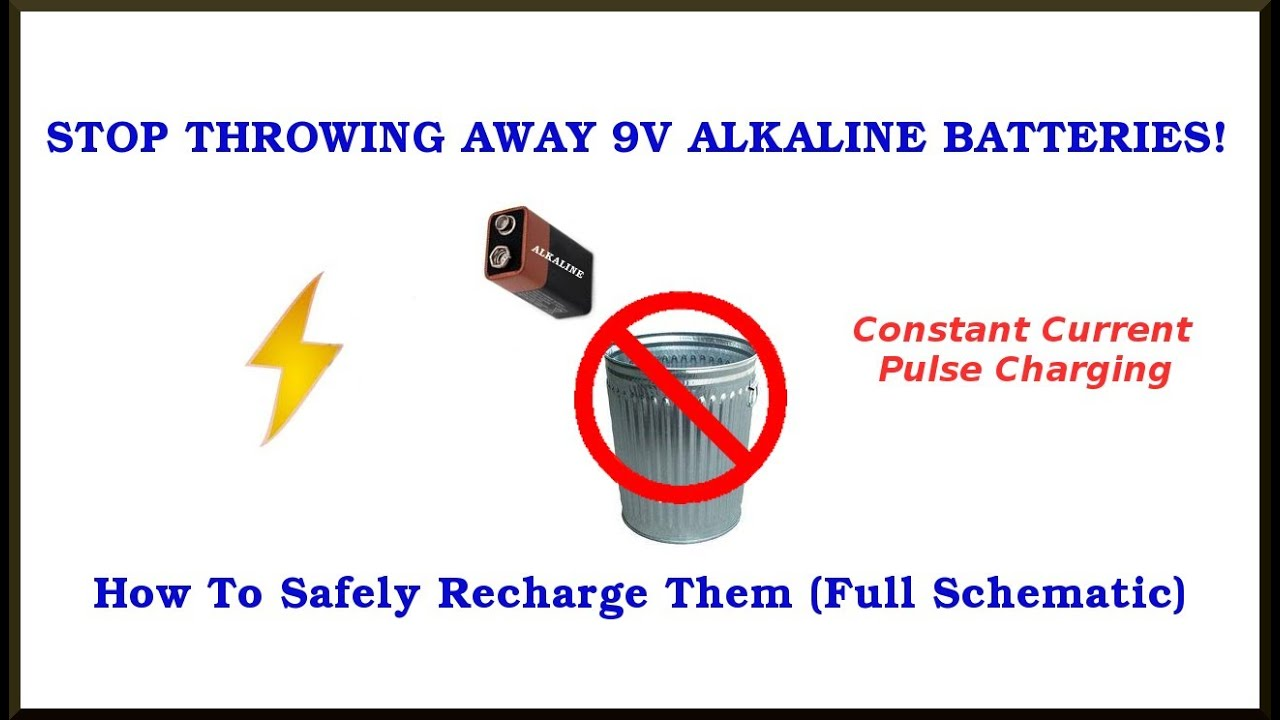 9v alkaline battery charging circuit also 1 5v cells  [ 1280 x 720 Pixel ]