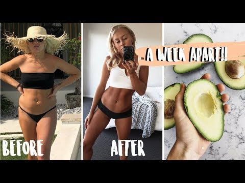 what I eat in a day to DETOX after holidays! ONE WEEK TRANSFORMATION. I'm PALEO????