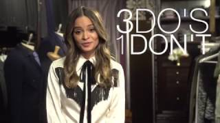 LG Styler social media clip with Sophie Lopez