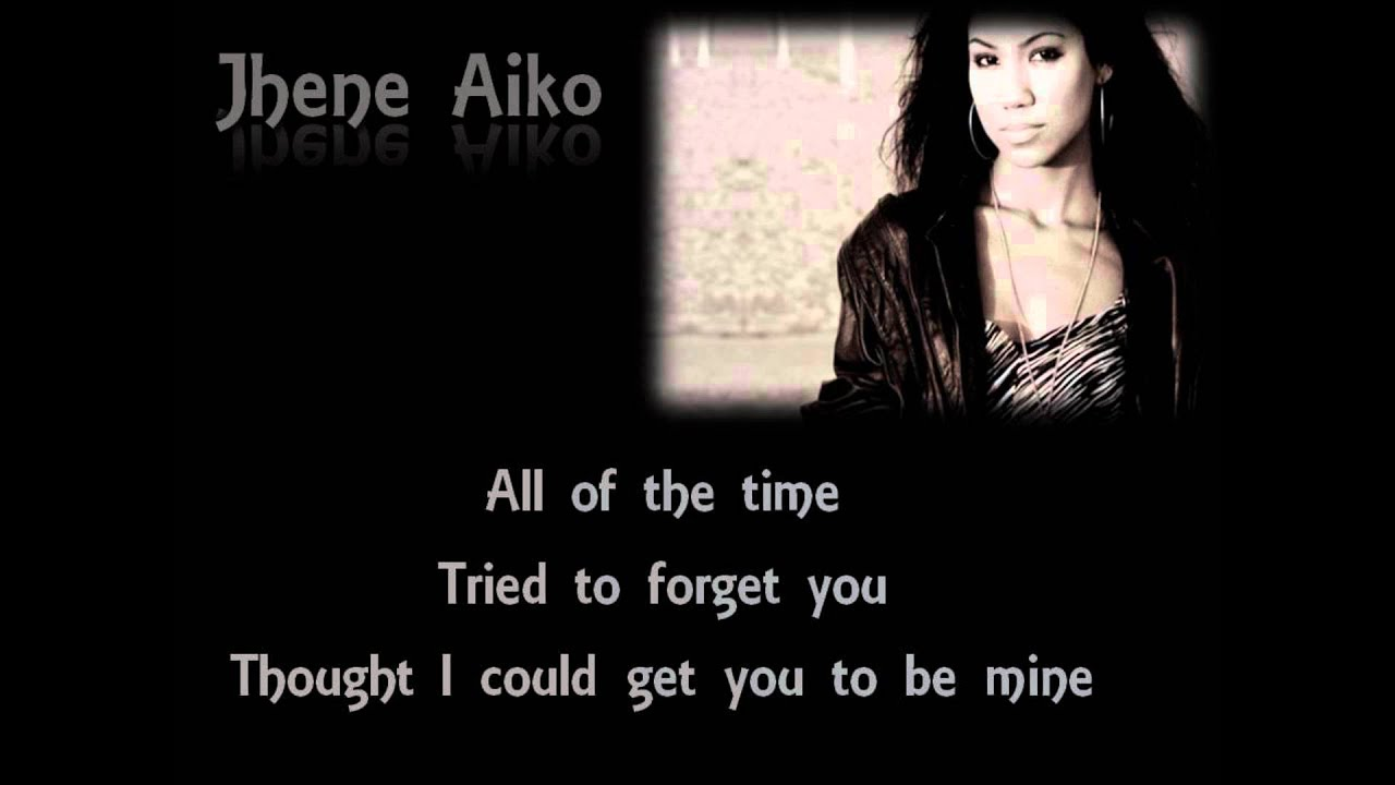 Jhene Aiko My Mine Lyrics On Screen