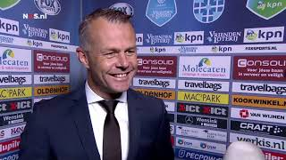 Kuipers heeft nooit aan rode kaart Hendrix gedacht, PEC PSV (0-1), Eredivisie