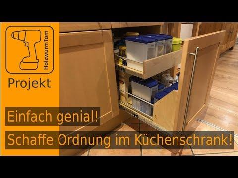 Einfach genial! Küchenschrank umbauen - Schaffe mehr Ordnung ...