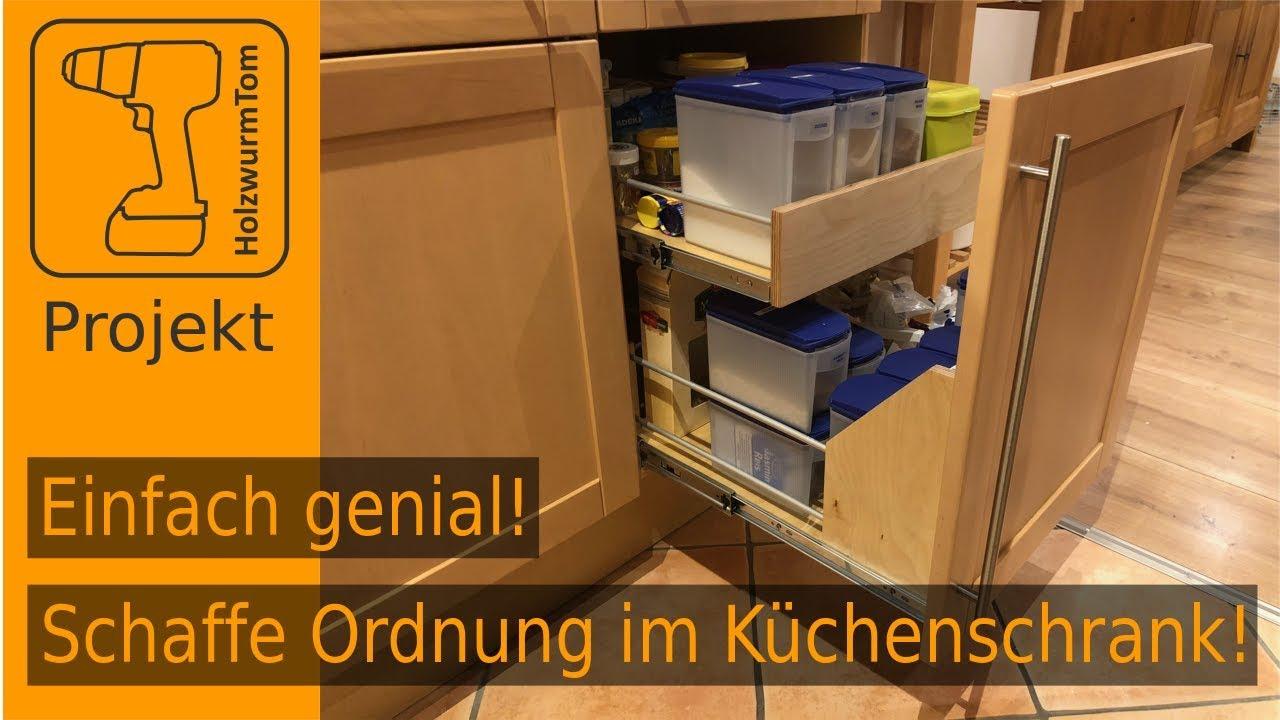 Einfach genial! Schaffe Ordnung im Küchenschrank! - YouTube