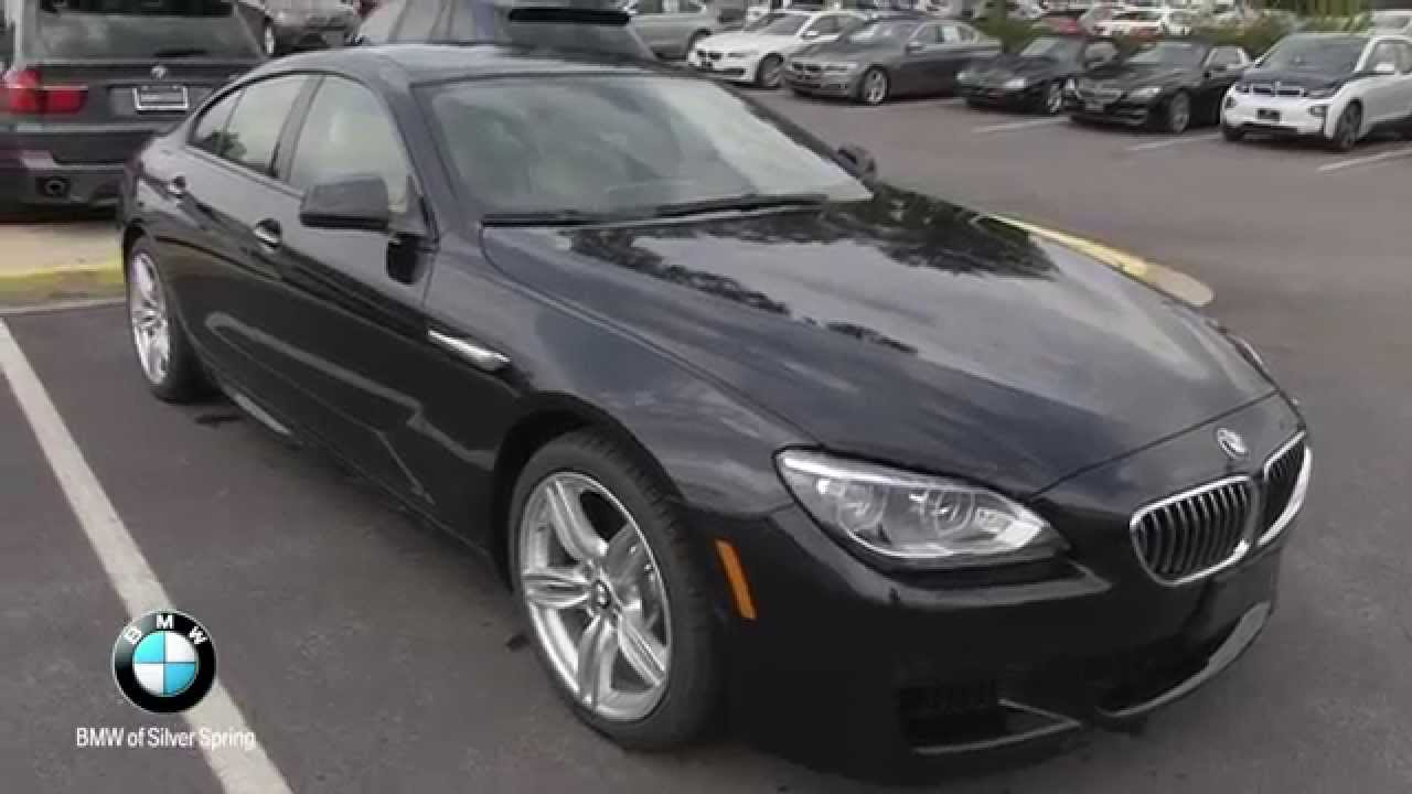 2015 bmw 640i xdrive gran coupe at bmw of silver spring. Black Bedroom Furniture Sets. Home Design Ideas