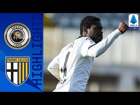 Spezia 2-2 Parma | Lo Spezia ferma il Parma con una doppietta di Gyasi | Serie A TIM