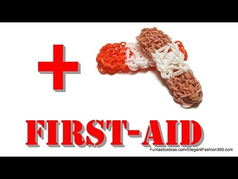 rainbow-loom-bandage/bandaid/first-aid-charms---how-to